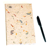 Floral Handmade  Paper