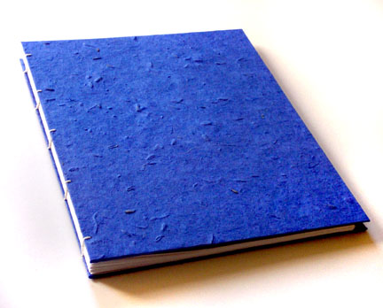 Large Blue Journal