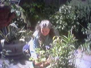 Lise in the Garden